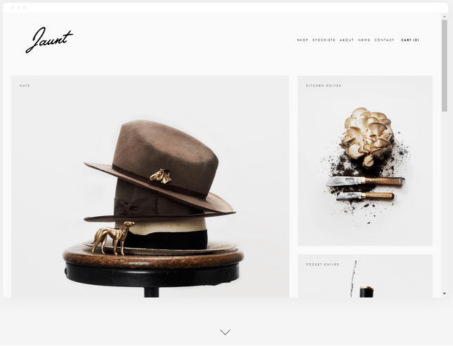 squarespace ecommerce jewelry theme