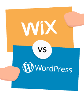 Image result for wix vs wordpress