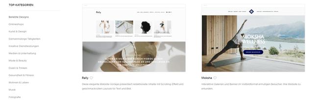 besten website baukasten fur kleine unternehmen squarespace