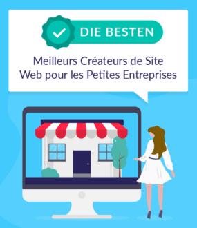 meilleurs createurs de site web pour les petites enterprises
