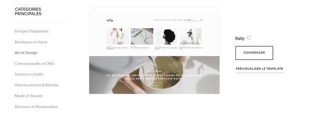 meilleurs createurs de site web pour les petites entreprises squarespace