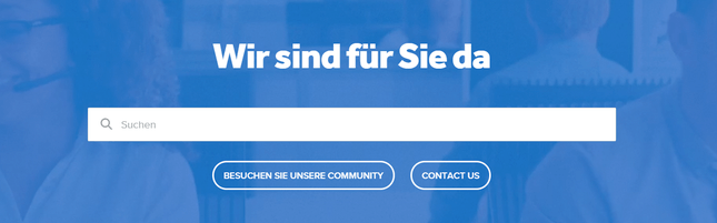 Weebly-Kundensupport