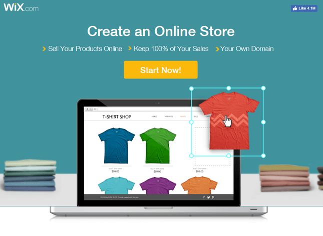 wix best ecommerce website builder small business
