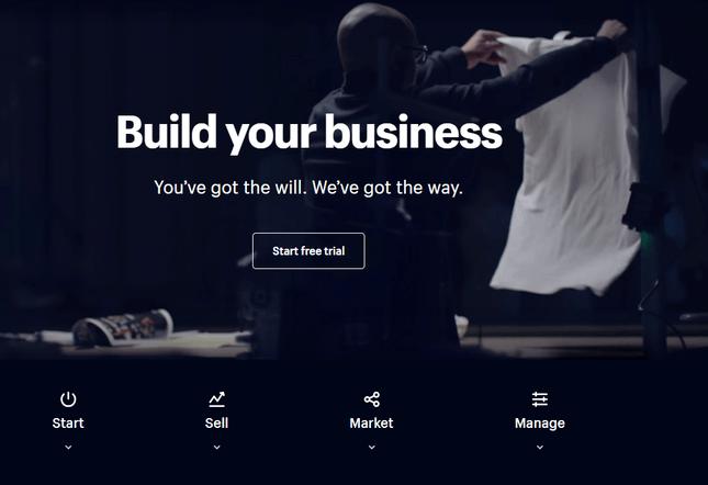 shopify best ecommerce website builder for artists