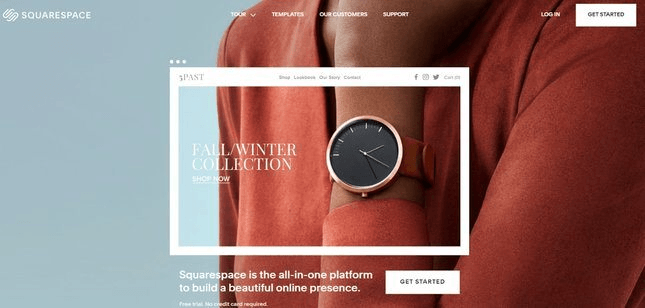 squarespace online store