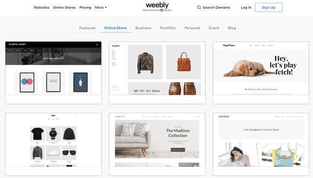 weebly ecommerce best alternative to bigcommerce