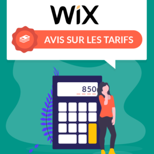 wix avis sur les tarifs