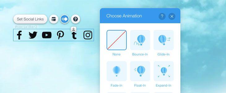 Wix Editor Animation