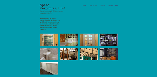 A brochure website