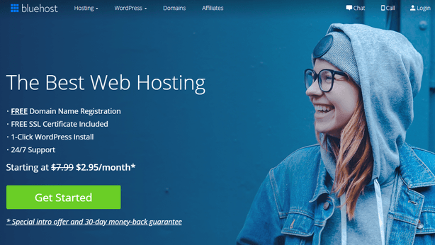 bluehost cheap shared hosting