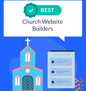 featured image best church website builders