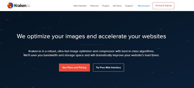 kraken image optimization