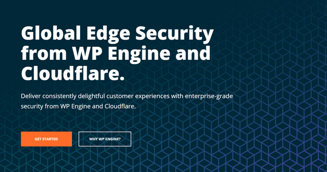 wpengine global edge security