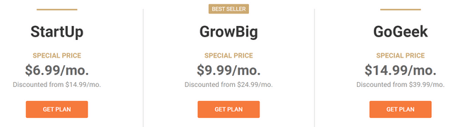 siteground pricing review shared plans