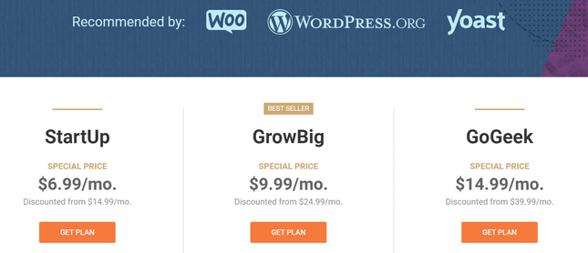 siteground pricing review wordpress plans
