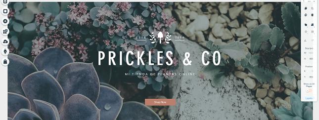como crear una tienda online mi tienda de plantas online wix