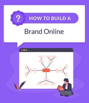 how to build a brand online featured image