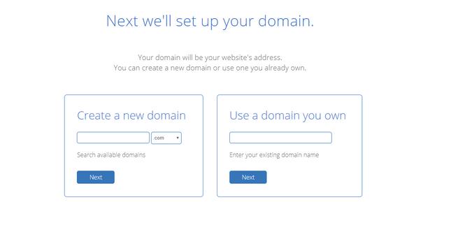 bluehost setup domain registration