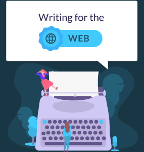 featured image writing for the web