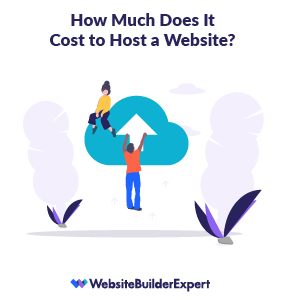 cost to host a website