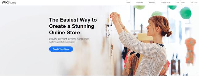 Wix eCommerce alternative