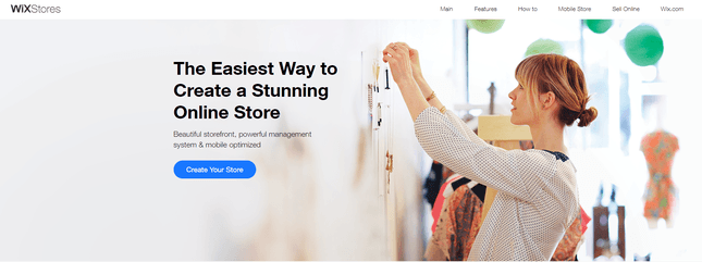 wix stores ecommerce