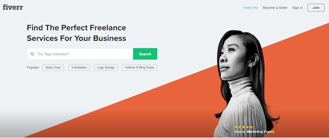 freelance service fiverr