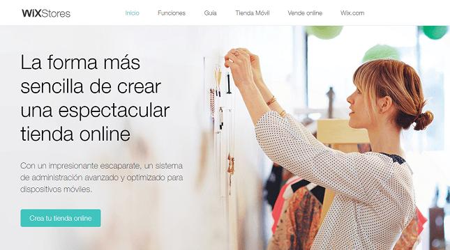 wix tienda online