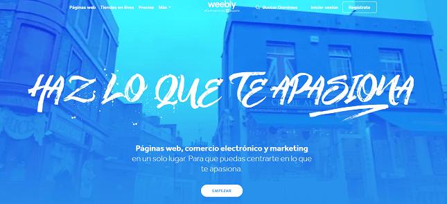 alternativas a wordpress weebly