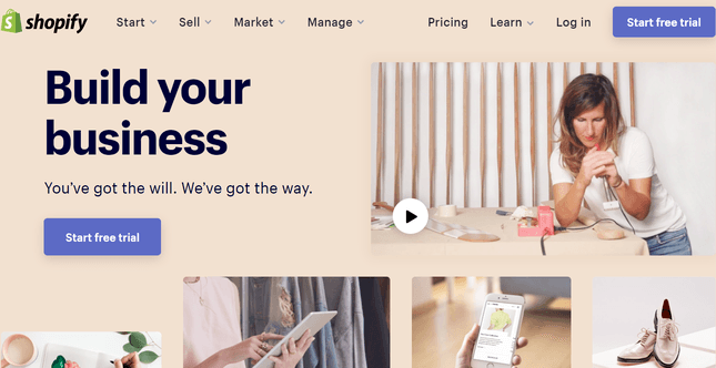 shopify best ecommerce for small business