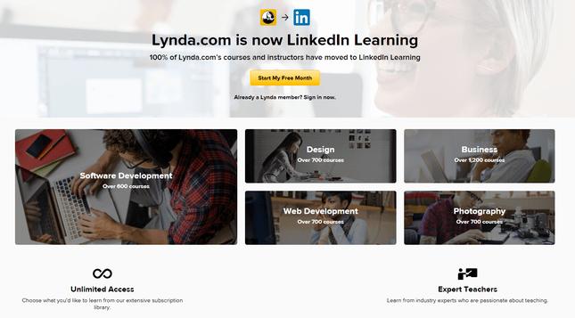 monetize online courses lynda com example