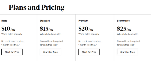 godaddy pricing photography site