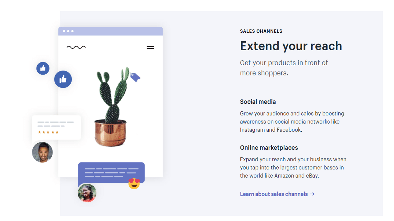 shopify multichannel selling