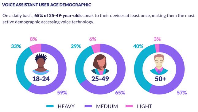 Voice Assistant User Age Demographic