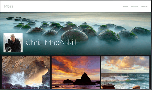 smugmug photography template