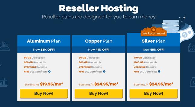 hostgator reseller hosting plans