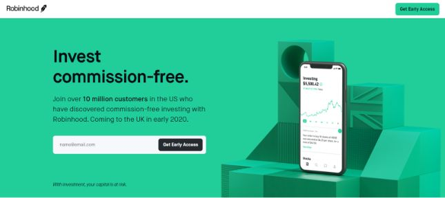 side hustle: stocks and shares app
