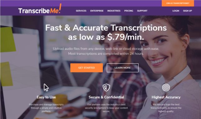 Side hustle: transcribe videos