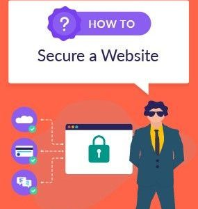 how to secure a website