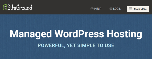 siteground managed wordpress home