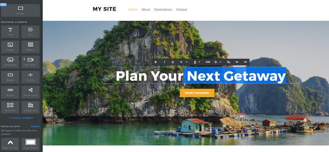 best website builders weebly editor