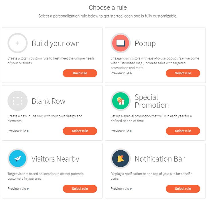 duda personalization tools
