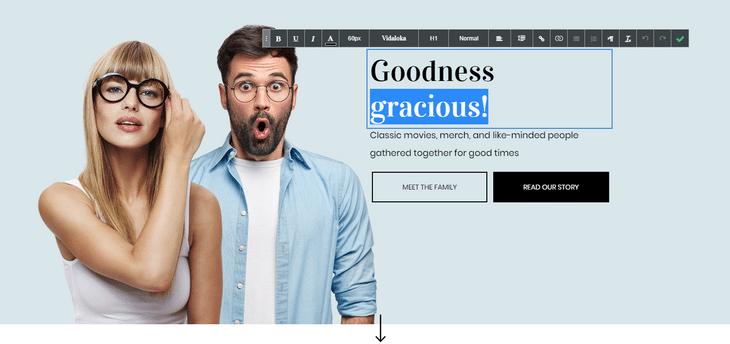 duda website builder easy editor