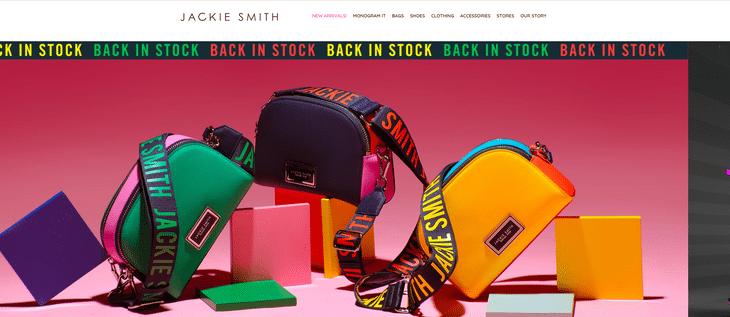 ecommerce web design jackie smith