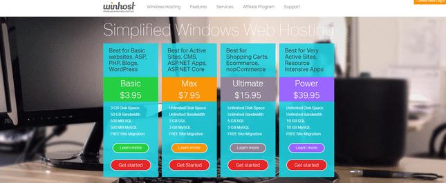 winhost asp.net hosting
