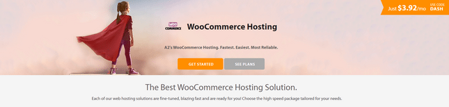 best secure woocommerce hosting a2 hosting