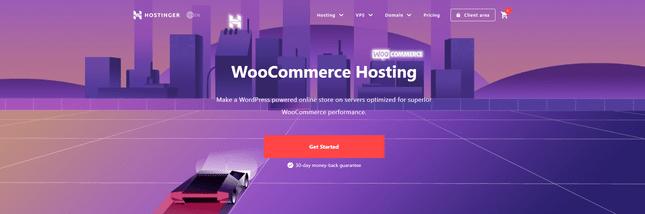 best woocommerce hosting hostinger