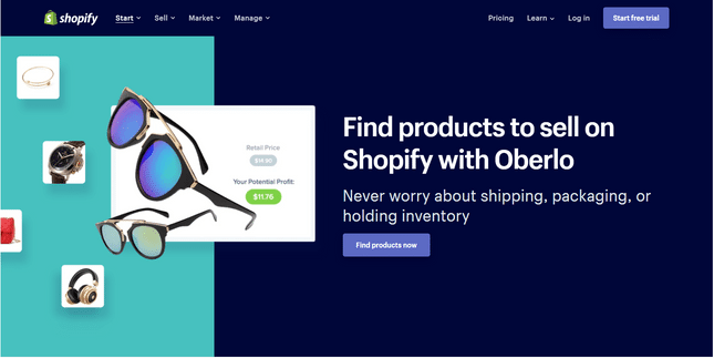 how to start a dropshipping business on shopify