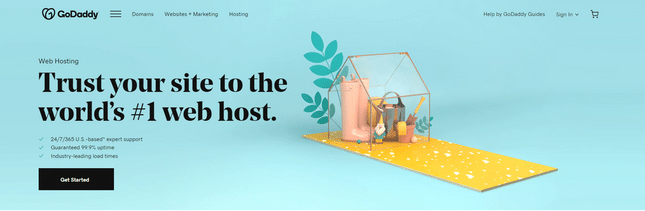 godaddy best blog host for extra features