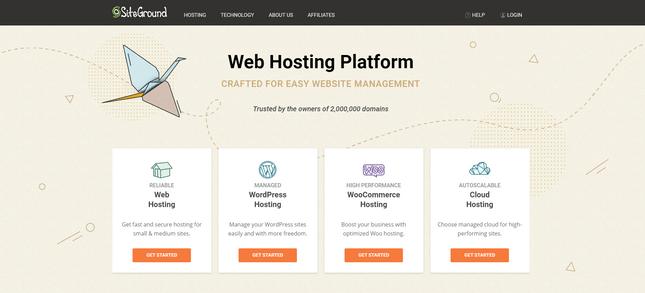 siteground best blog host for customer support